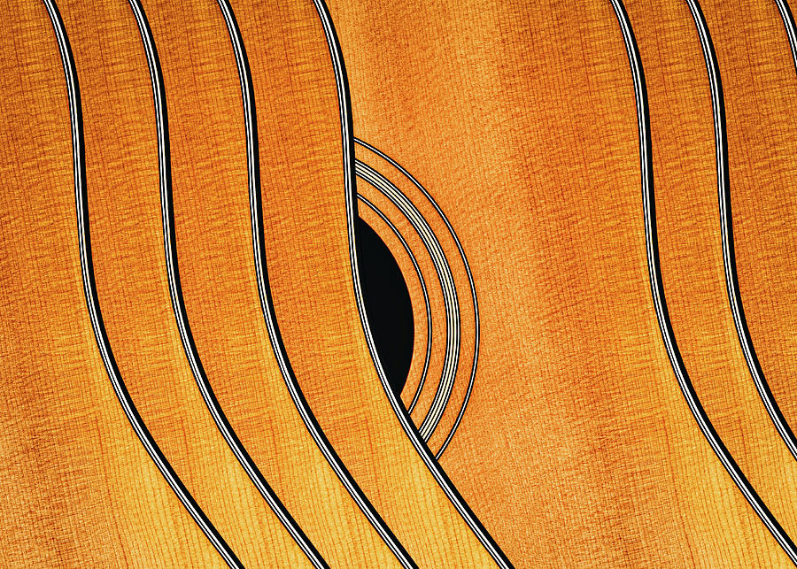 Acoustic Curve No 7 by Bob Orsillo