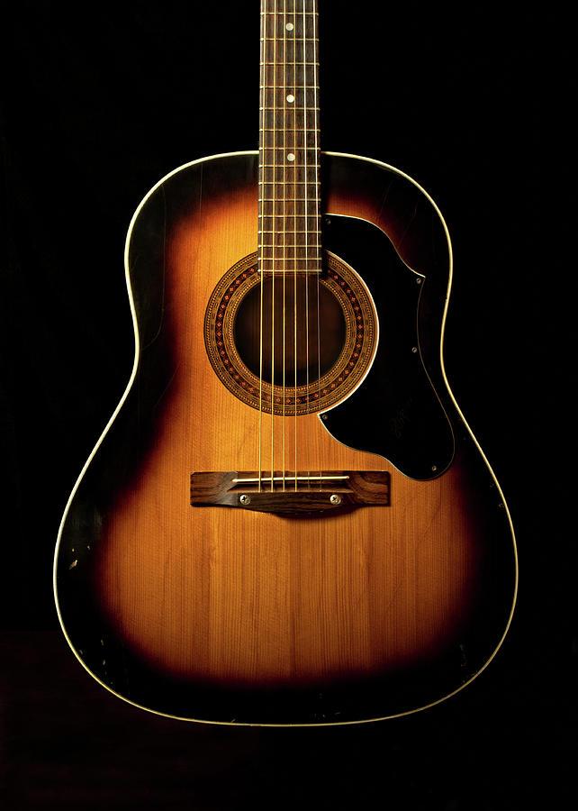 Acoustic Guitar Photograph by Juj Winn