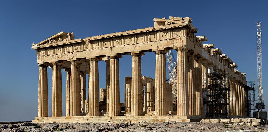 Acropolis Of Athens Parthenon Photograph by Efilippou