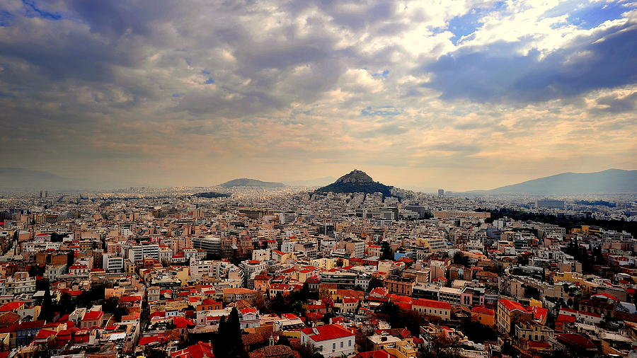Acropolis Of Athens Photograph by Photographed By Lee Leng Kiong (singapore)