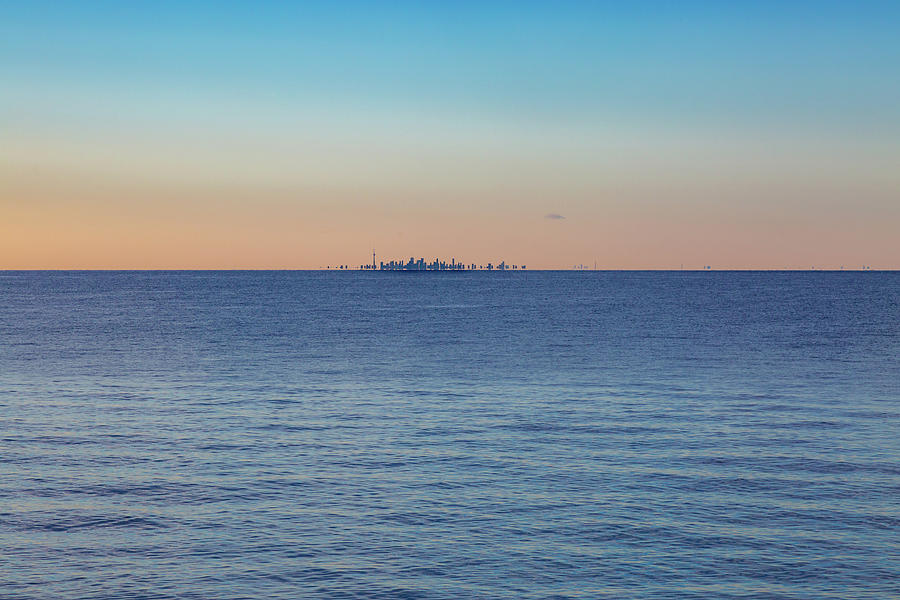 Across Lake Ontario by Jack R Perry