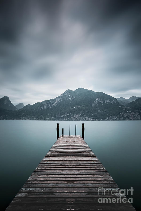 Across The Endless Alps Photograph
