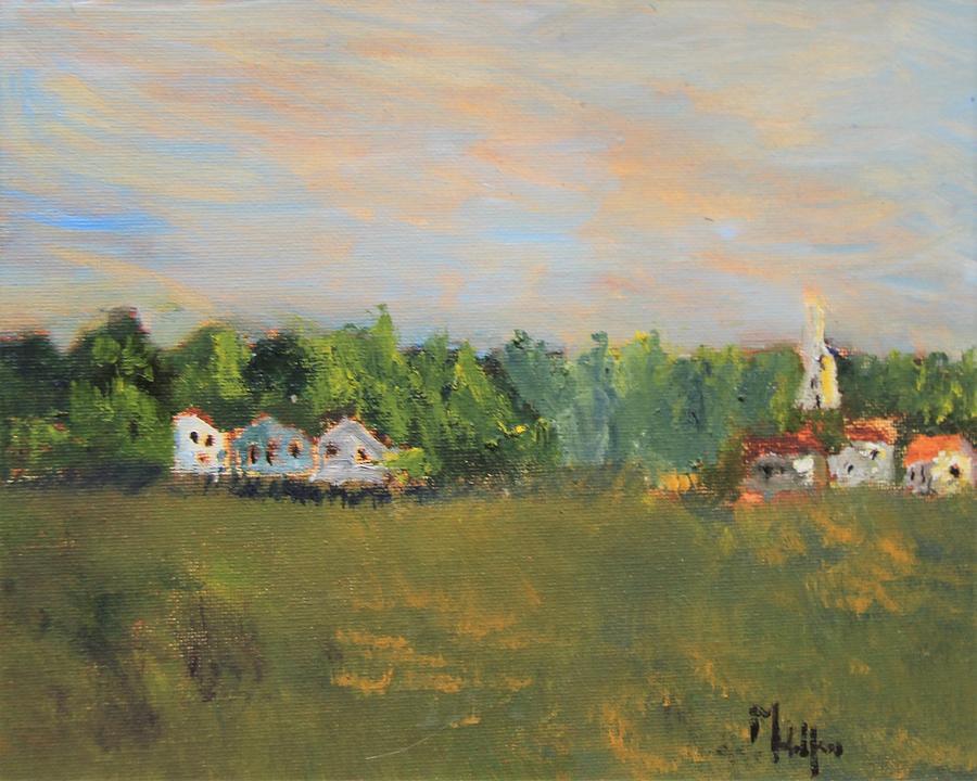 Across the Marsh by Michael Helfen