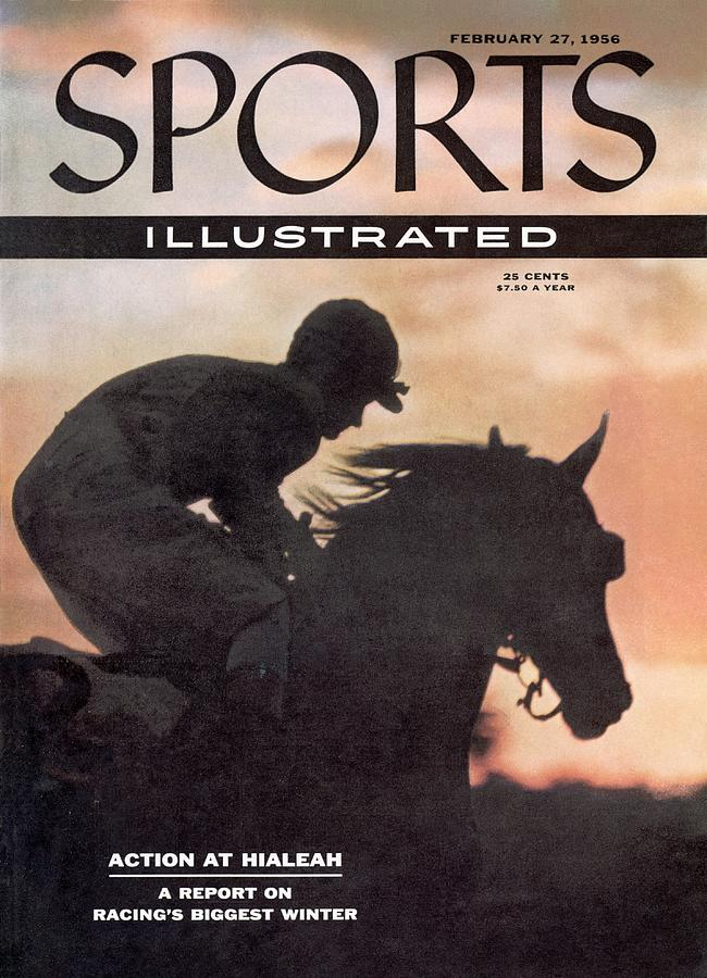Activate, 1956 Flamingo Stakes Sports Illustrated Cover Photograph by Sports Illustrated