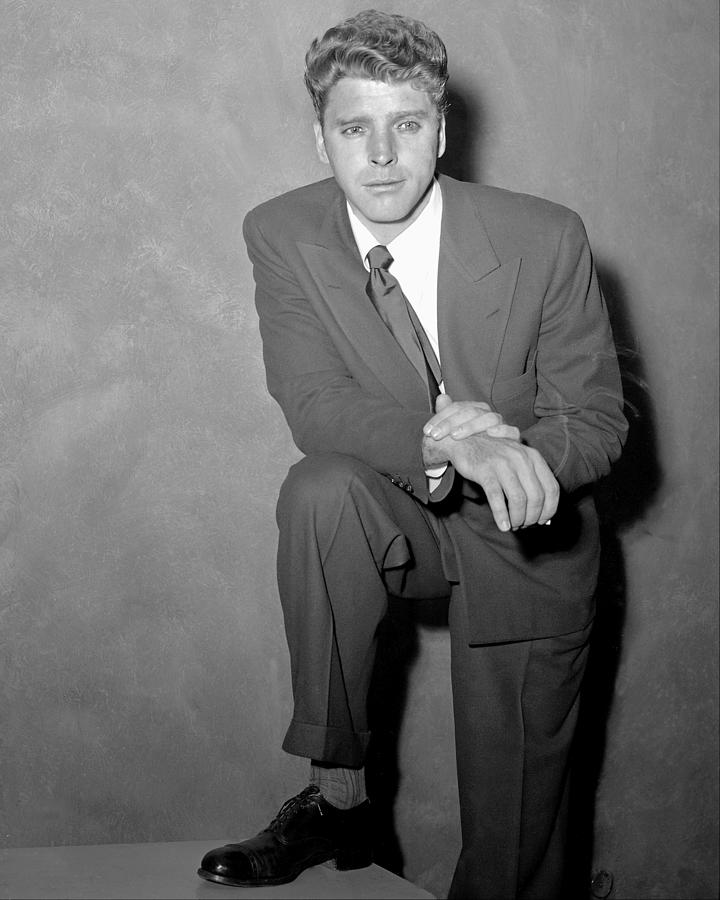 Actor Burt Lancaster At The Daily News Photograph by New York Daily News Archive