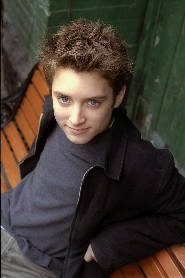 Actor Elijah Wood On West Broadway In Photograph by New York Daily News Archive