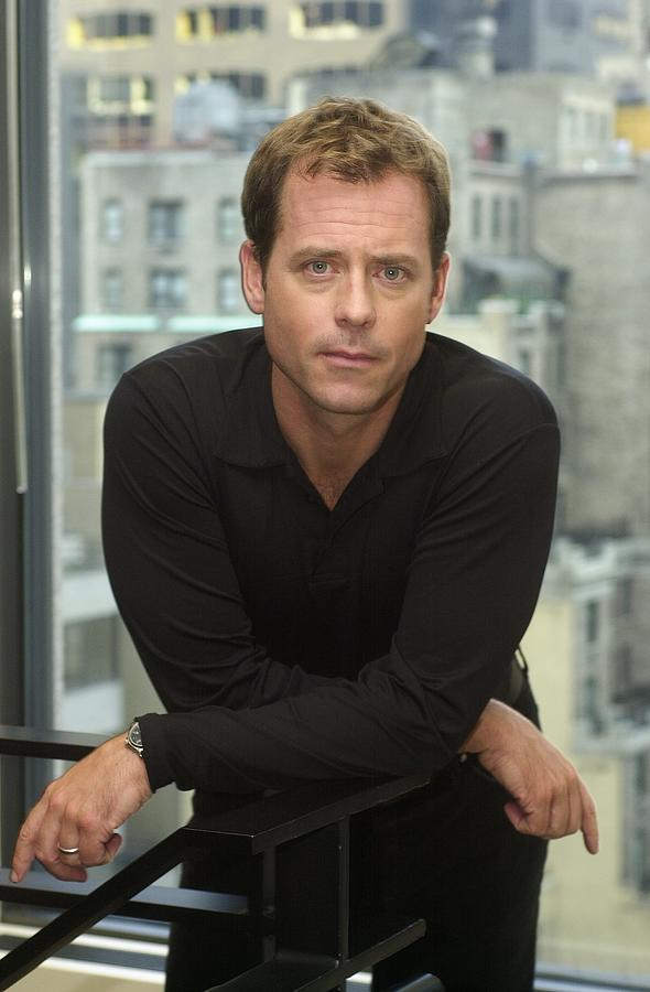 Actor Greg Kinnear In The Offices Of Photograph by New York Daily News Archive