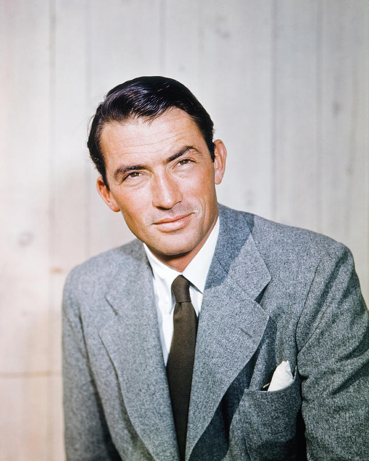Actor Gregory Peck Photograph by Archive Photos
