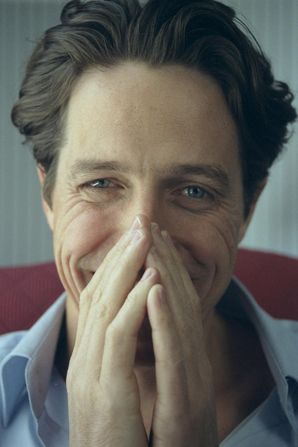 Actor Hugh Grant, Who Is Starring In A Photograph by New York Daily News Archive