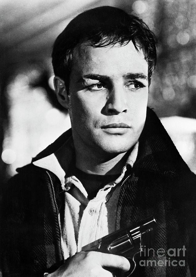 Actor Marlon Brando Photograph by Bettmann