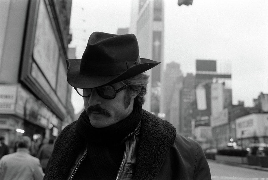 Actor Robert Redford On New York City Photograph by John Dominis