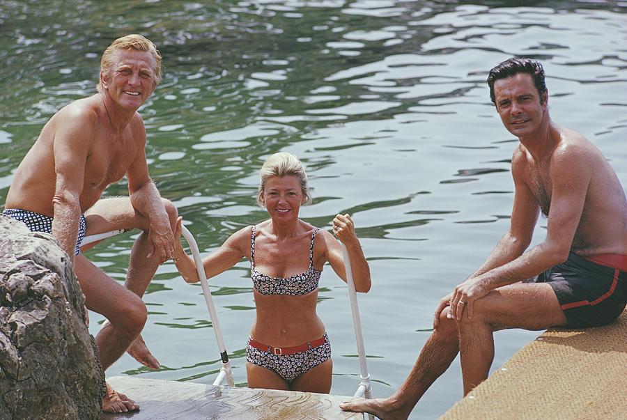 Actors In Antibes Photograph by Slim Aarons