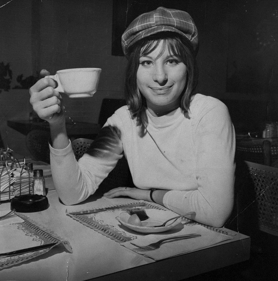 Actress And Singer Barbra Streisand Photograph by New York Daily News Archive