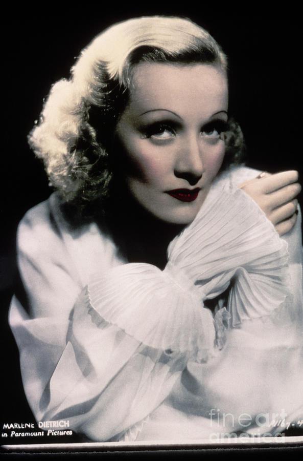 Actress And Singer Marlene Dietrich Photograph by Bettmann
