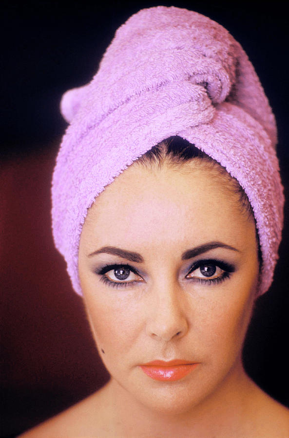 Actress Elizabeth Taylor Poses Photograph by Getty Images