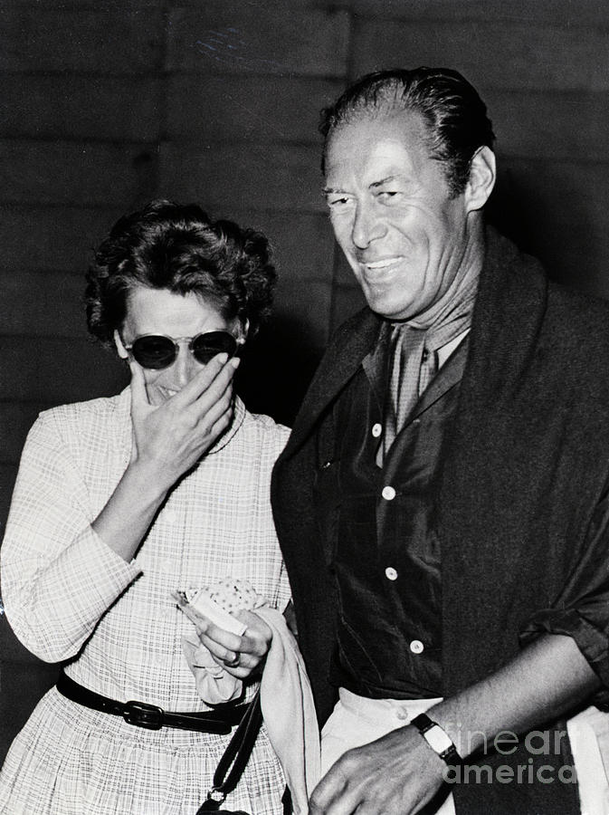 Actress Greta Garbo With Actor Rex Photograph by Bettmann