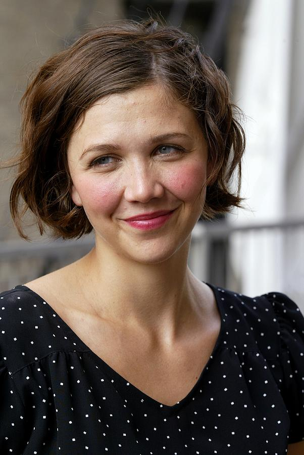 Actress Maggie Gyllenhaal At The Photograph by New York Daily News Archive