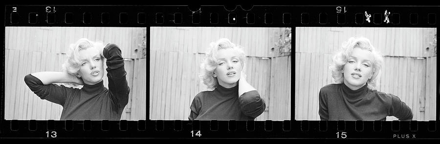 Actress Marilyn Monroe Photograph by Alfred Eisenstaedt