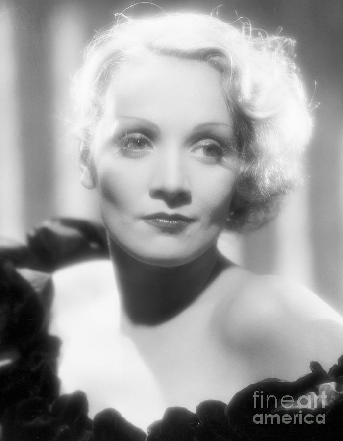 Actress Marlene Dietrich In The Song Photograph by Bettmann