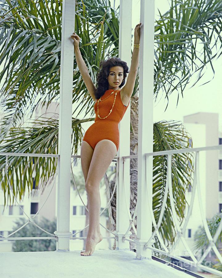 Actress Rita Moreno Photograph by Archive Photos