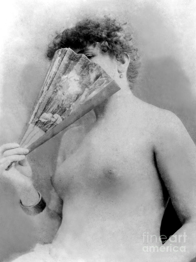 Actress Sarah Bernhardt circa 1880 by French School