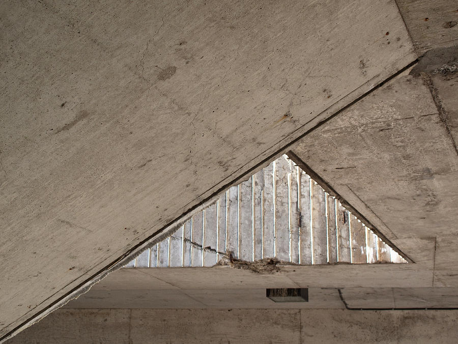 Acute Angle Of A Ceiling Photograph by Markus Goeres