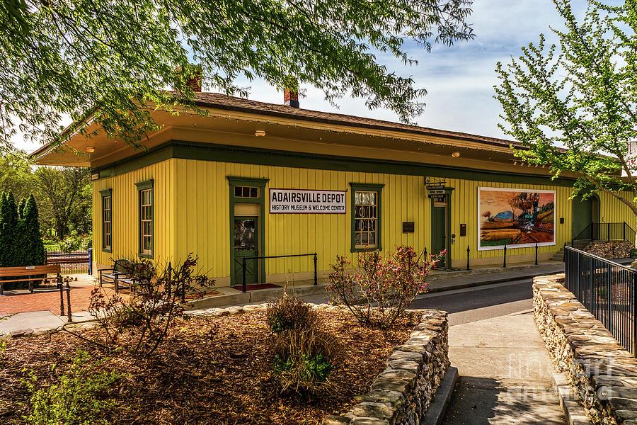 Adairsville Depot by Nick Zelinsky