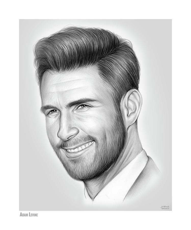 Adam Levine by Greg Joens