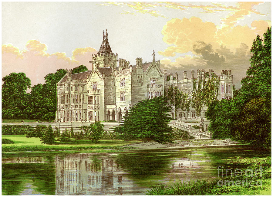 Adare Manor, County Limerick, Ireland Drawing by Print Collector