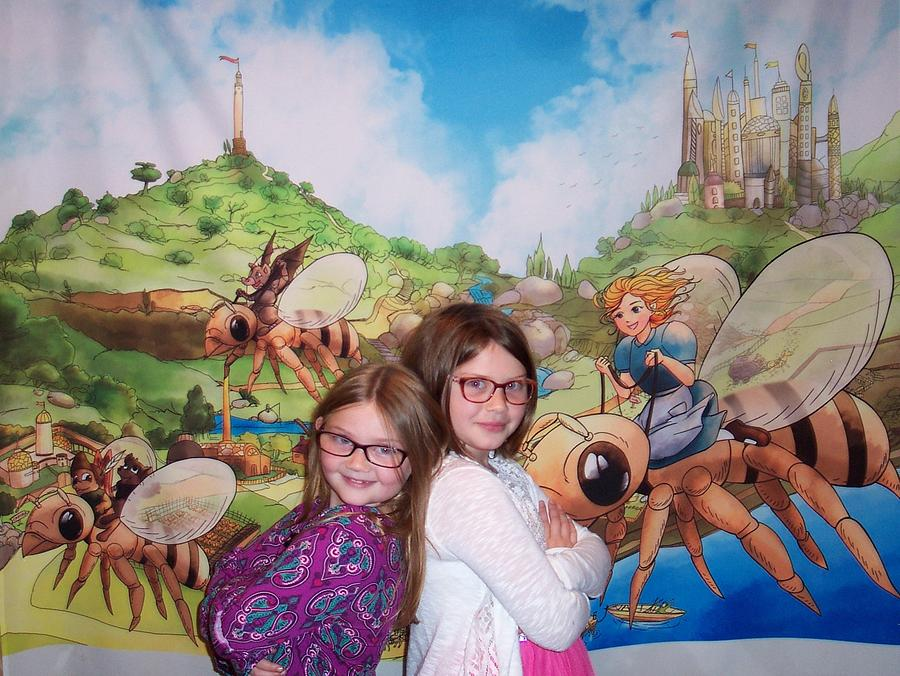 Addy, Rylie, and Tammy by Reynold Jay