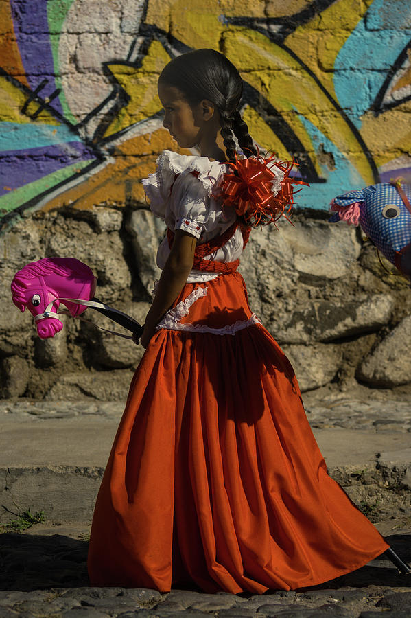 Mexico Photograph - Adelita on Mexican Revolution Day by Dane Strom