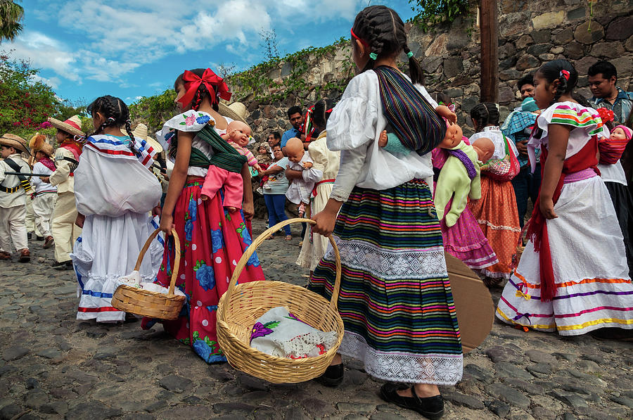 Mexico Photograph - Adelitas on Revolution Day in Mexico by Dane Strom