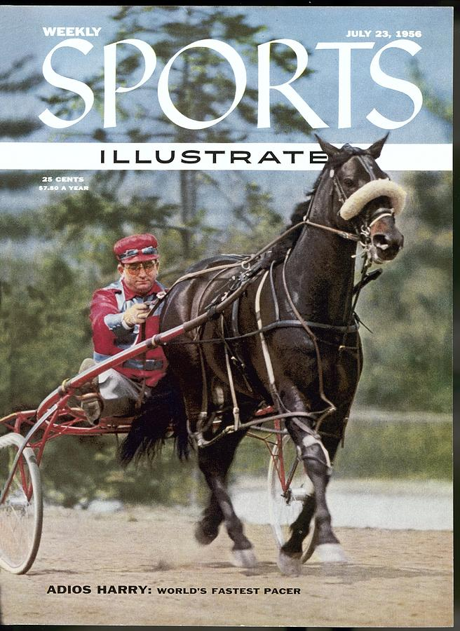 Adios Harry, Harness Racing Sports Illustrated Cover Photograph by Sports Illustrated