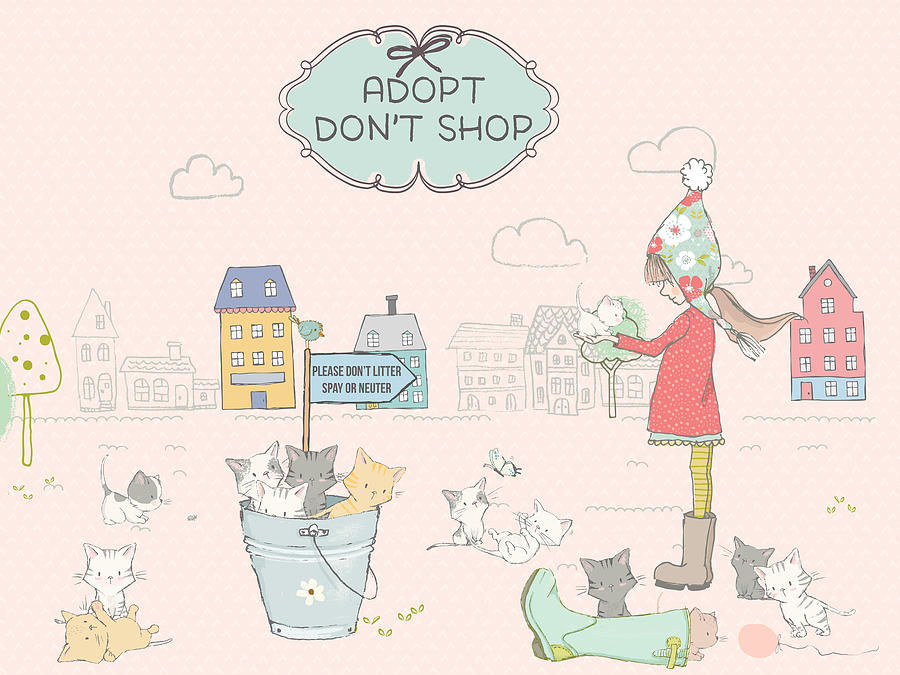 Adopt - Don't Shop by Ruth Moratz