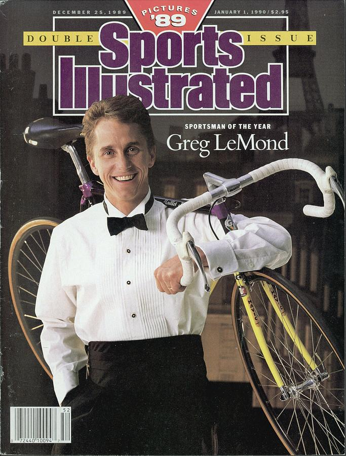 Adr Agrigel Greg Lemond, 1989 Sportsman Of The Year Sports Illustrated Cover Photograph by Sports Illustrated