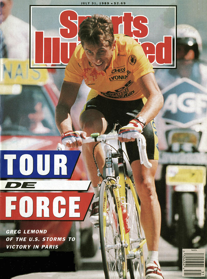 Adr Agrigel Greg Lemond, 1989 Tour De France Sports Illustrated Cover Photograph by Sports Illustrated