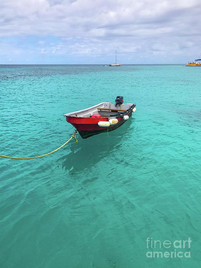 Boat Photograph - Adrift by Amy Lyon Smith