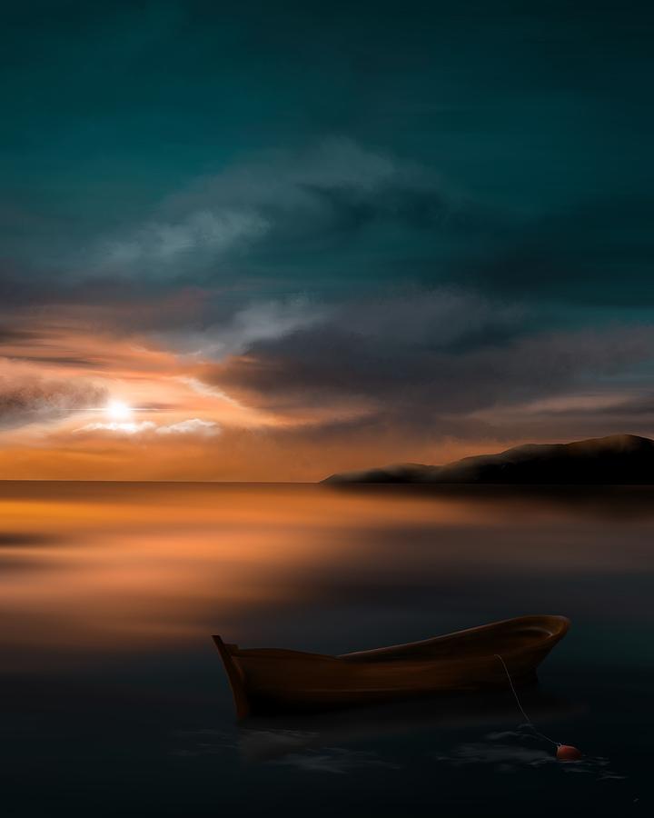 Adrift On A Silent Ocean by Mark Taylor