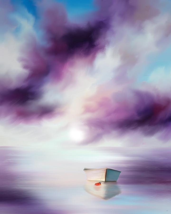 Adrift on Purple Waters by Mark Taylor
