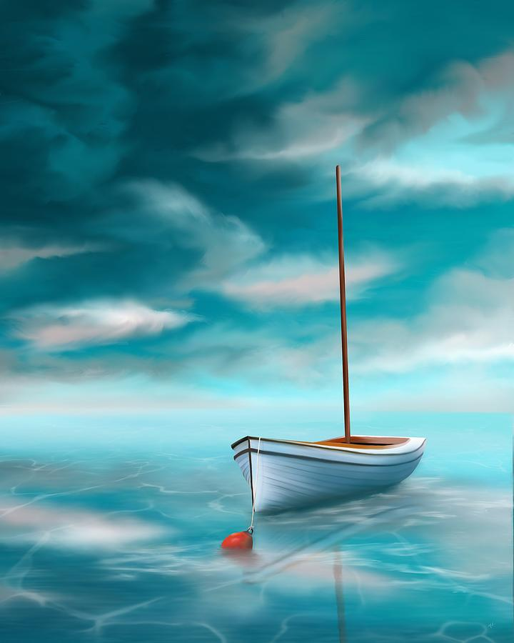Adrift on Turquoise Waters by Mark Taylor