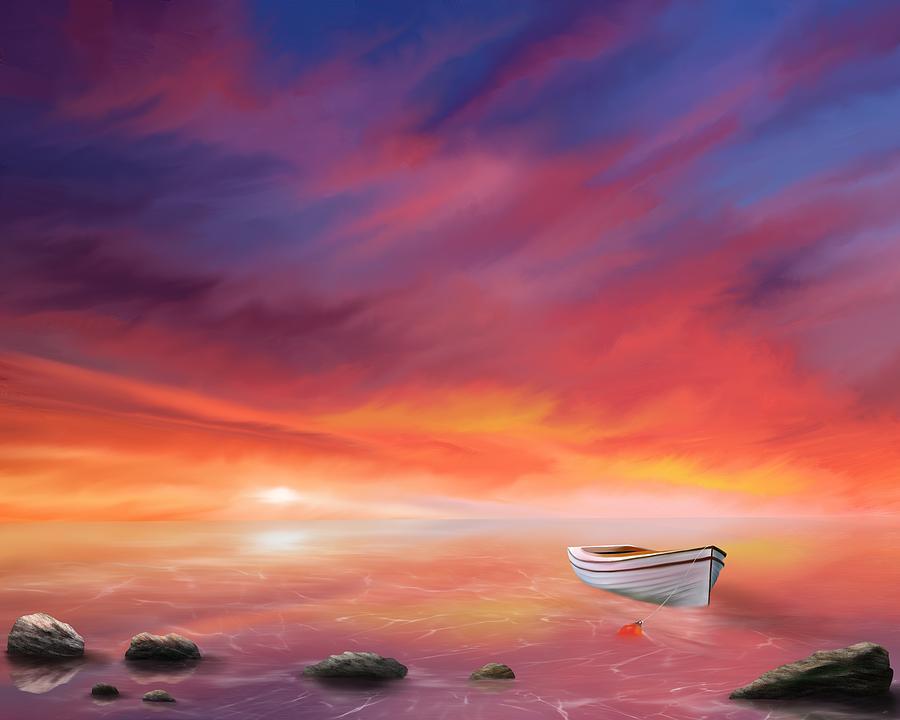 Adrift Under A Burning Sky by Mark Taylor