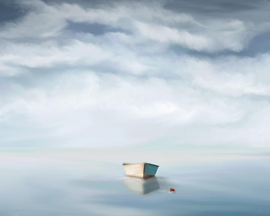 Adrift Under A Cotton Sky by Mark Taylor