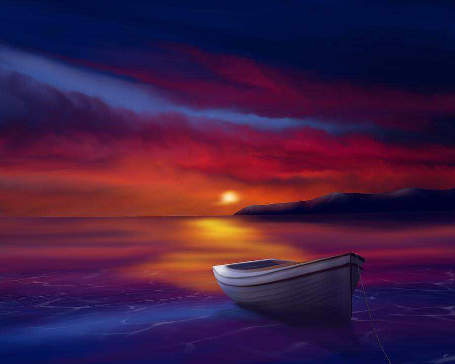 Adrift Under A Fading Sun by Mark Taylor