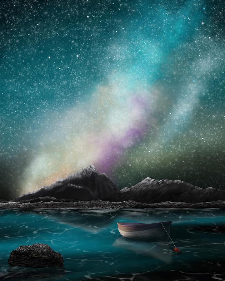 Adrift Under A Galaxy by Mark Taylor