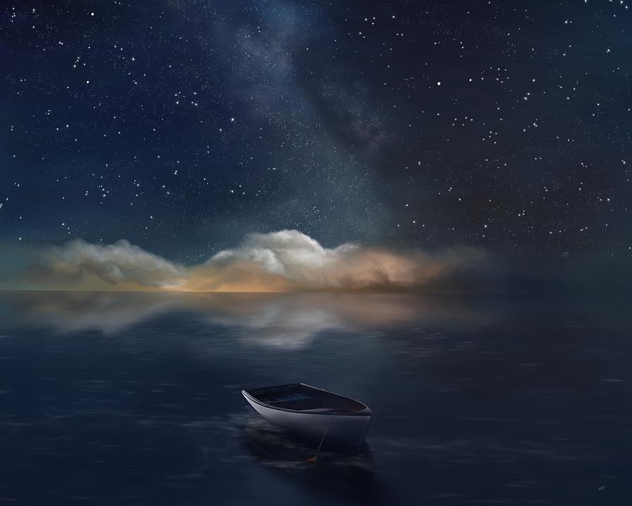Adrift Under A Midnight Sky by Mark Taylor