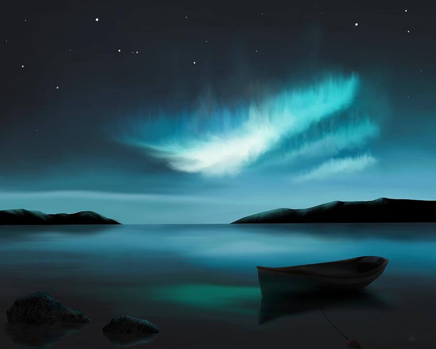 Adrift Under The Northern Lights by Mark Taylor