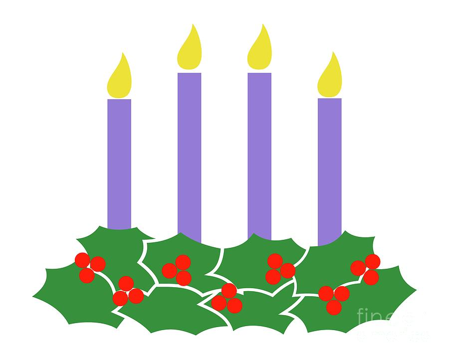 Advent Wreath by Donna Mibus