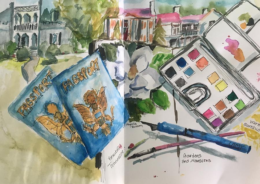 Adventure Awaits by Susan Elizabeth Jones