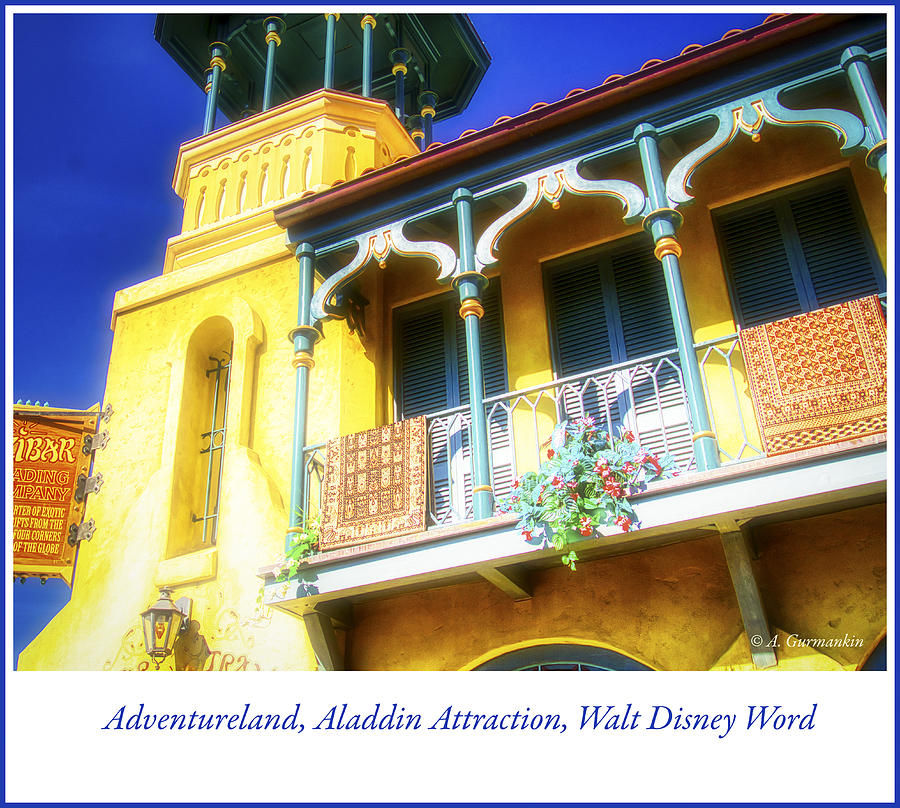 Adventureland, Aladdin Attraction, Walt Disney Word by A Gurmankin