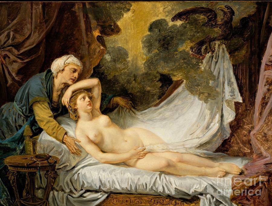 Aegina Visited By Jupiter Painting